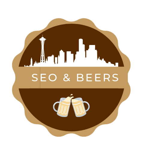 SEO & Beers Seattle Logo Mobile